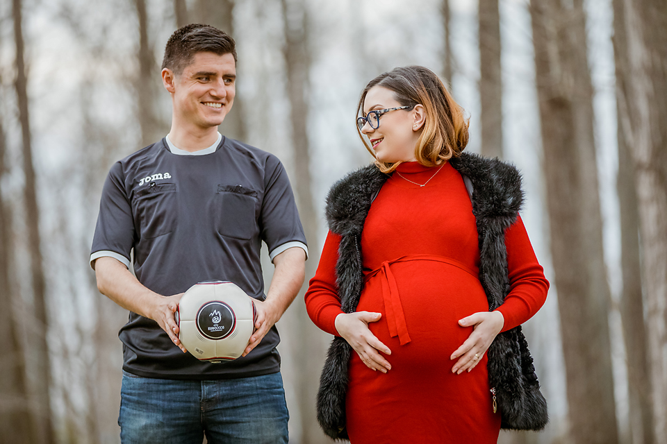 Couple Photo Pregnant Woman Photography